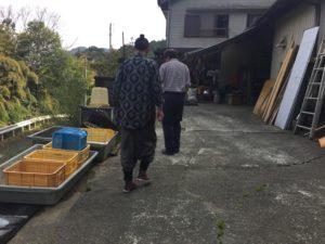 高橋さんのところへ到着